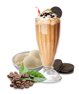 Oreo Frappe Coffee Shake, Milkshake, Thick Shake Coffee, Oreo and Ice Cream