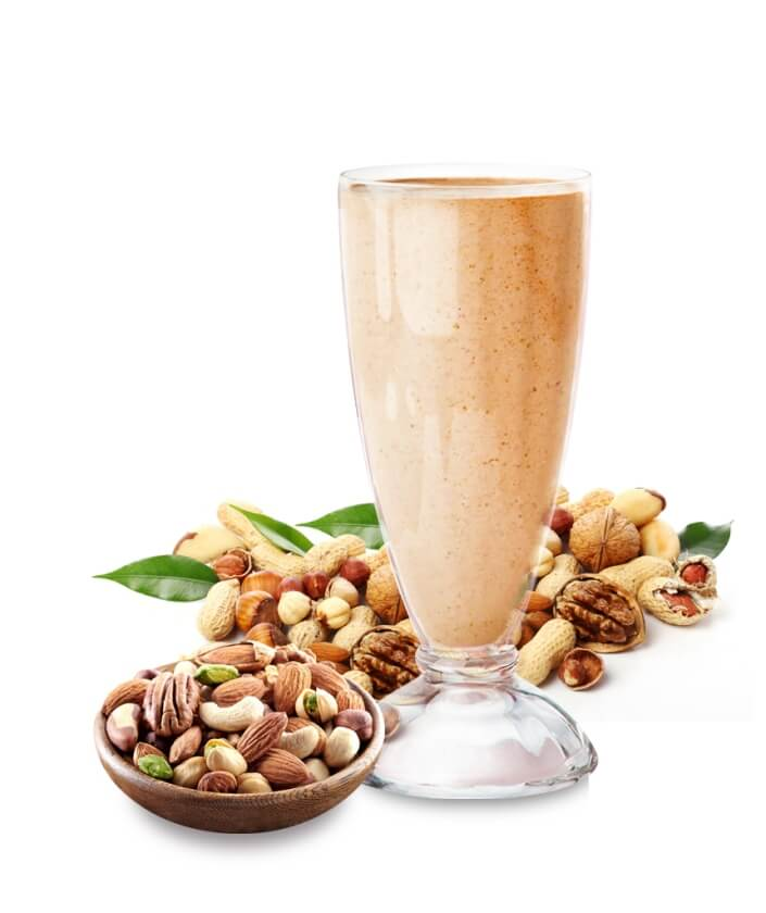 Nuts Fruit Shake, Milkshake & Thickshakes, Vanilla Ice Cream