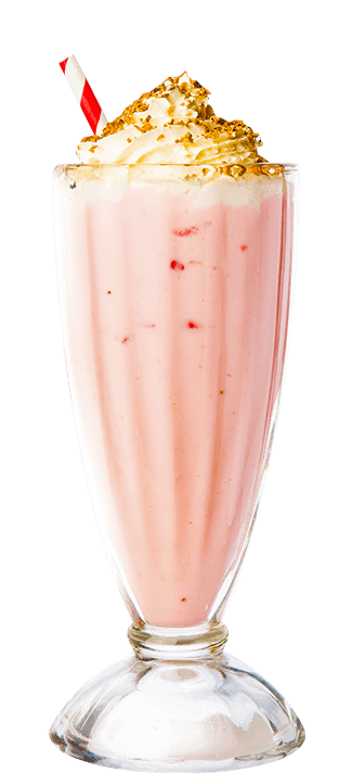Hazel Berry Indulge Thick Shake, Milkshake, Thick Shake Nutella, Strawberry and Ice Cream